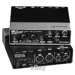 Steinberg UR22mkII USB Audio Recording Interface for MAC PC iOS UR22