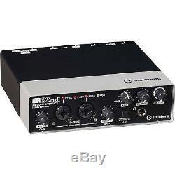 Steinberg UR22mkII USB Audio Recording Pack Interface UR22 Studio Bundle