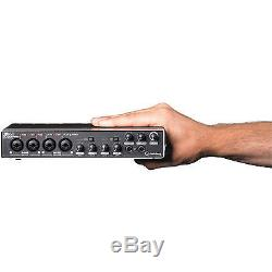 Steinberg UR44 6x4 USB Audio Recording Interface for MAC PC iOS with Cubase AI