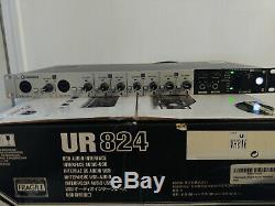 Steinberg UR824 UR 824 USB audio MIDI interface 8x D-PRE's 44.1-192khz pristine