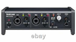 TASCAM 2-In/2-Out Hi-Res USB Audio Interface with 2 Mic Preamps US-2X2HR