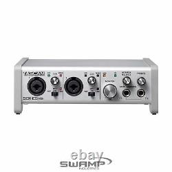 TASCAM Series 102i 10-in 2-out USB Audio MIDI Interface with 2 Mic Preamps