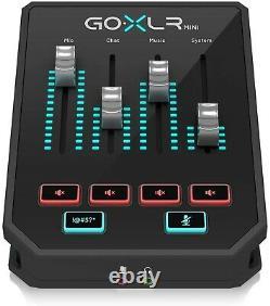 TC-Helicon Go XLR Mini Digital Bradcast Mixer Audio Interface Broadcaster USB JP