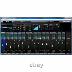Tascam 16X8 Channel USB/MIDI Audio Interface US-16x08
