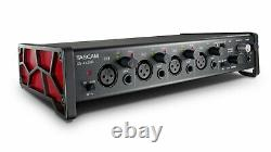 Tascam 4-In/4-Out Hi-Res USB Audio Interface with 4 Mic Preamps US-4x4HR