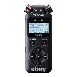Tascam DR-05X Stereo USB Audio Interface with 32GB Card and Accessory Bundle