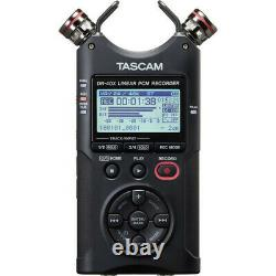 Tascam DR-40X Four-Track Digital Audio Recorder and USB Audio Interface