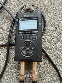 Tascam DR-40x Four Track Digital Audio Recorder & USB Audio Interface