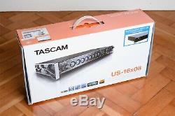 Tascam US-16x08 USB Audio / MIDI Interface, Pristine Condition, Boxed