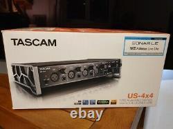 Tascam US-4x4 USB Audio & MIDI Interface