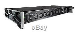 Tascam Us 16x08 USB MIDI Audio Interface 16 Eingänge 8 Ausgänge PC Mac Hdda Dsp