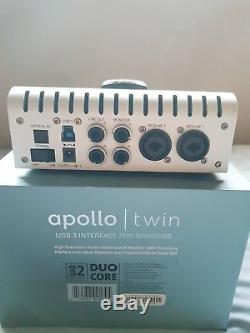 (UAD) Universal Audio Apollo Twin Duo USB for Windows audio interface