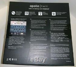 Universal Audio Apollo Twin UAD 2 Duo Core USB 3.0 Audio Interface