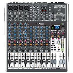 WIE NEU Behringer XENYX X1622USB 16-Kanal 2/2 Bus Mischpult Audio Interface