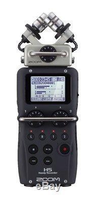 Zoom H5 Handy Recorder with Knox Suspension Boom Arm