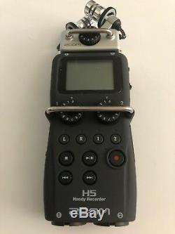 Zoom H5 Portable Digital Handy Recorder With Travel Case 16gb Sd Card