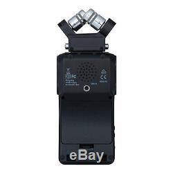 Zoom H6 24-Bit 96kHz WAV/MP3 Audio Recorder withUSB Computer Interface All Black