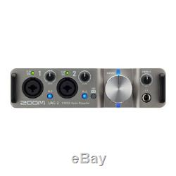 Zoom UAC-2 Ultra-Low Latency USB 3.0 Audio Interface 2 Mic Pre's, Stereo Out